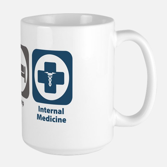 Eat Sleep Internal Medicine Large Mug