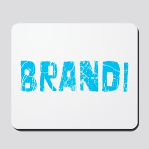 Brandi Faded (Blue) Mousepad