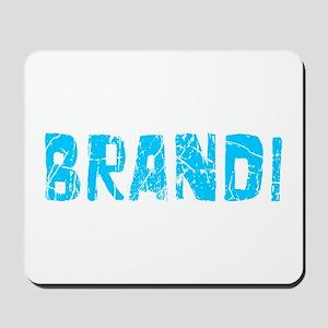 Brandi Faded (Blue) Mousepad