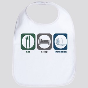 Eat Sleep Insulation Bib