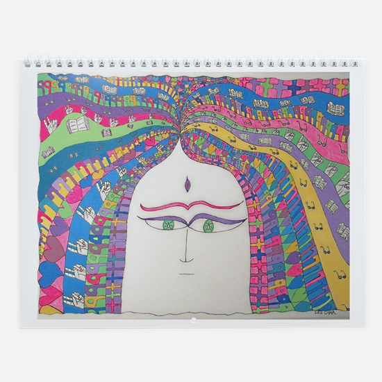 My Spirit Grows Wall Calendar
