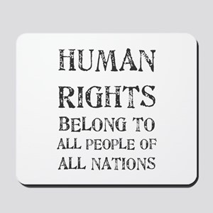Human Rights Mousepad