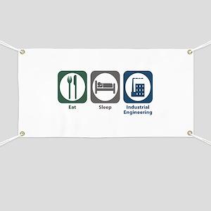 Eat Sleep Industrial Engineering Banner