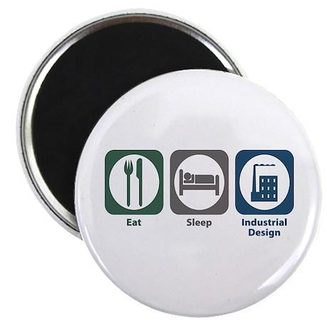 Eat Sleep Industrial Design Magnet