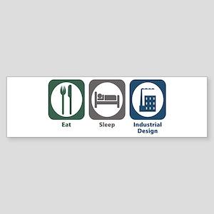 Eat Sleep Industrial Design Bumper Sticker