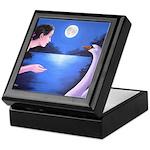 """""""Moonlight Encounter"""" keepsake box"""