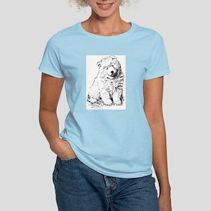 Samoyed Puppy Women's Cap Sleeve T-Shirt