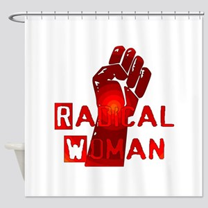 Radical Woman Shower Curtain