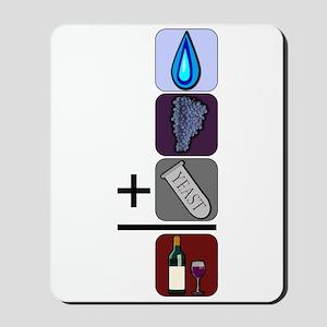 Wine Math Mousepad