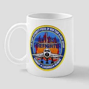 NY NJ Airports Firefighter Mug