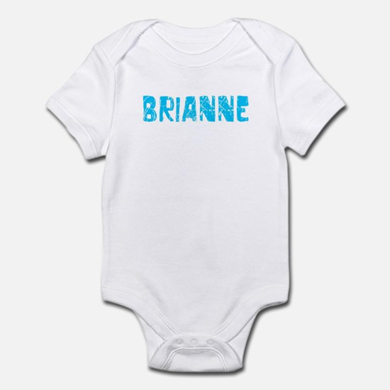 Brianne Faded (Blue) Infant Bodysuit