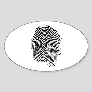 fingerprint Sticker