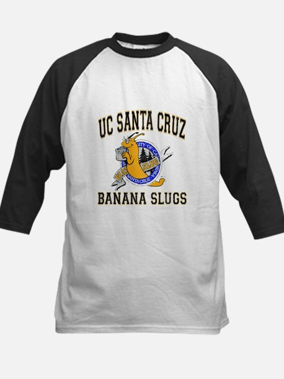 UC Santa Cruz Banana Slug Pulp Fic Baseball Jersey