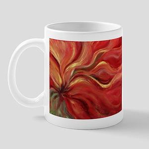 Flaming Flower Mug