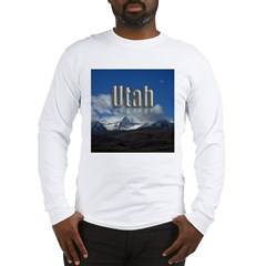 Utah Mountain Scene Long Sleeve T-Shirt