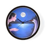 """""""Moonlight Encounter"""" clock"""