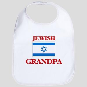 Jewish Grandpa Baby Bib