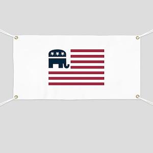GOP Flag Banner