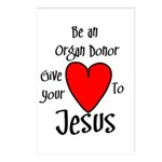 Jesus Heart Postcards (Package of 8)