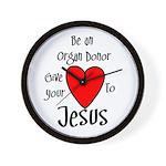 Jesus Heart Wall Clock