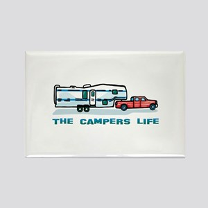 The campers life Rectangle Magnet