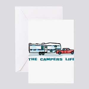 The campers life Greeting Card