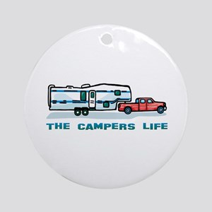 The campers life Ornament (Round)