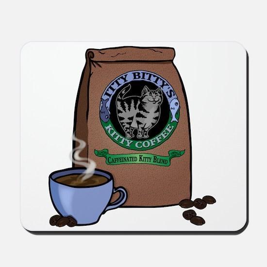 Caffeinated Kitty Blend Mousepad