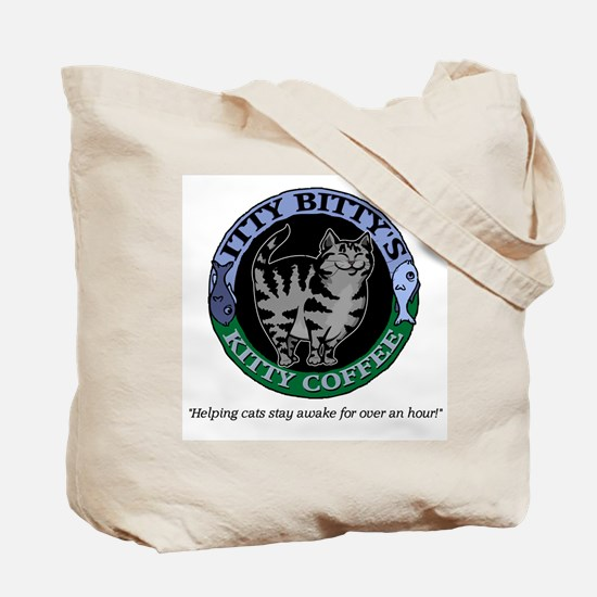Caffeinated Kitty Blend Tote Bag