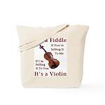 Fiddle or Violin Tote Bag