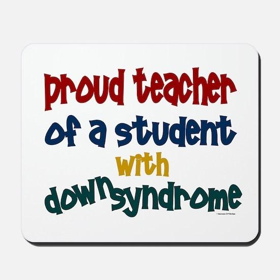 Proud Teacher....2 (Student DS) Mousepad