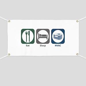 Eat Sleep HVAC Banner