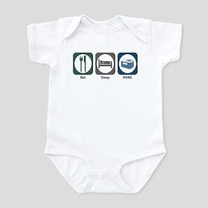 Eat Sleep HVAC Infant Bodysuit