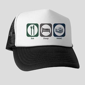 Eat Sleep HVAC Trucker Hat