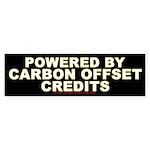 Carbon Offset Credits Bumper Sticker (10 pk)