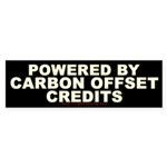Carbon Offset Credits Bumper Sticker (50 pk)