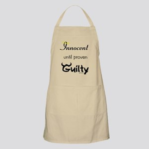 Innocent....Guilty BBQ Apron