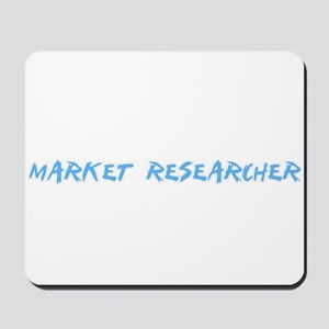 Market Researcher Profession Design Mousepad