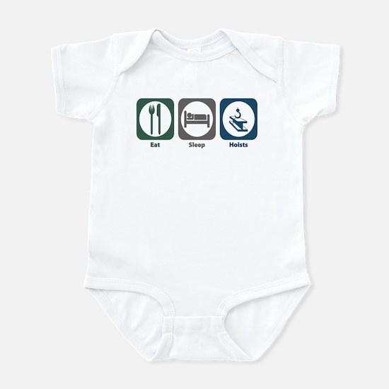 Eat Sleep Hoists Infant Bodysuit