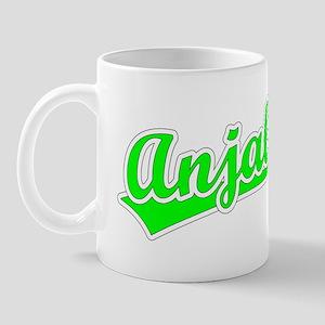 Retro Anjali (Green) Mug