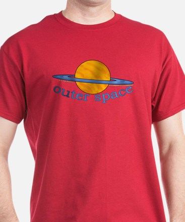 Cute Planet Picture T-Shirt