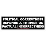 Political Correctness Thrives Bumper Sticker
