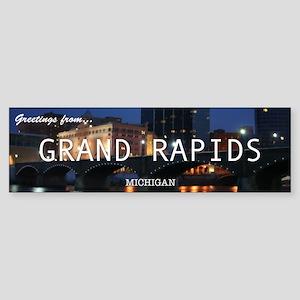 Greetings from... Grand Rapids Bumper Sticker!