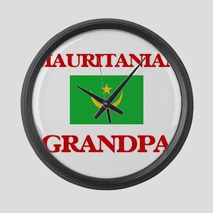 Mauritanian Grandpa Large Wall Clock
