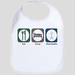 Eat Sleep Ham Radio Bib