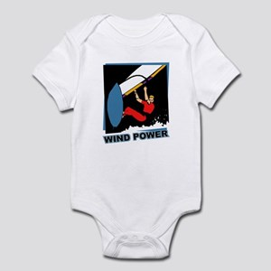 Wind Power Windsurfing Infant Bodysuit