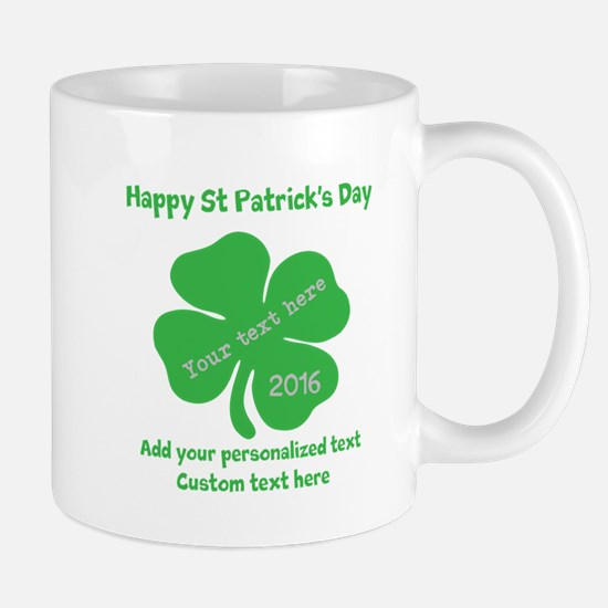 St Patricks Day Personalized Mugs