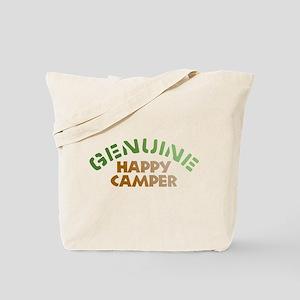 Genuine Happy Camper Tote Bag