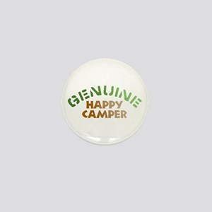 Genuine Happy Camper Mini Button