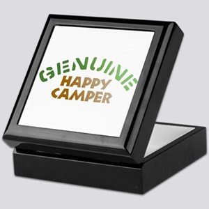 Genuine Happy Camper Keepsake Box